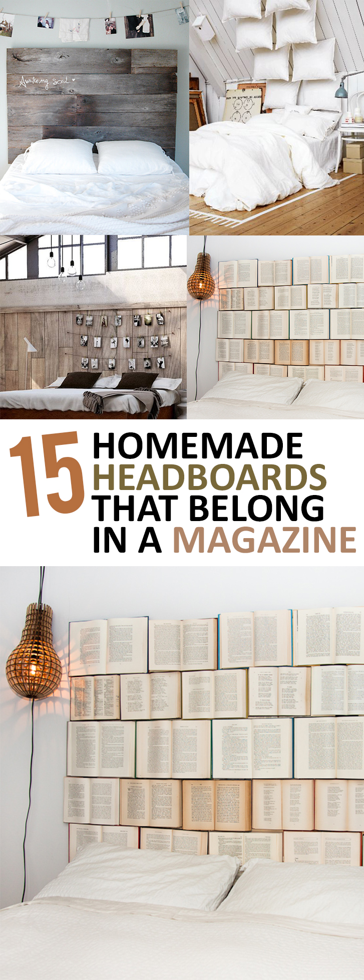Headboards, homemade headboards, magazine headboards, DIY headboards, easy headboard ideas, popular pin, bedroom remodel, bedroom updates, bedroom upgrades.