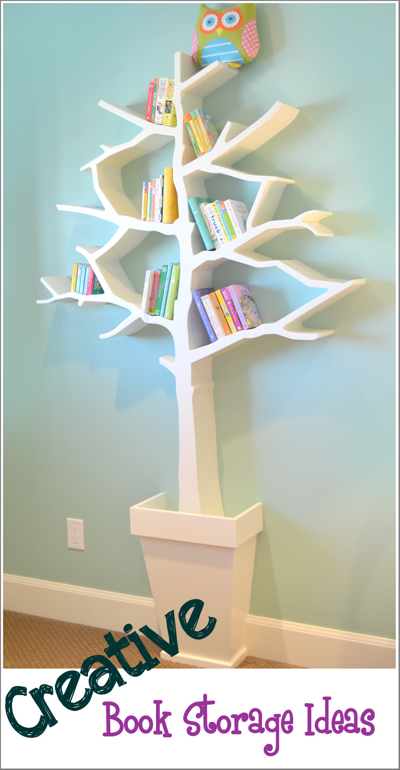 Leseecke im kinderzimmer kids corner reading corners for Creative shelf ideas