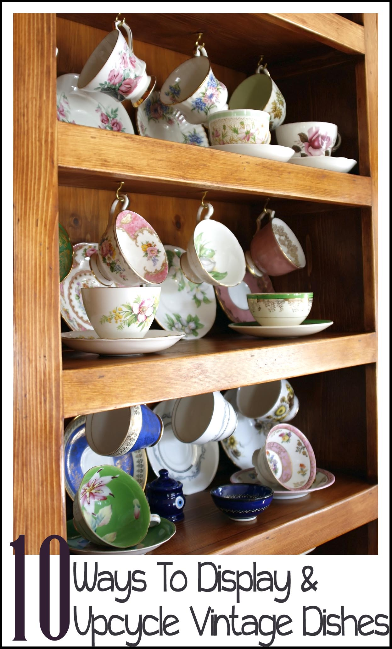 Cute for decor craft ideas pinterest baskets for Craft ideas for old dishes