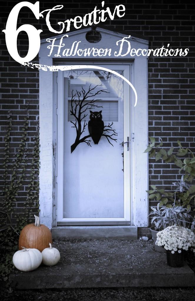 6 Creative Halloween Decorations - Unique Halloween Home Decor