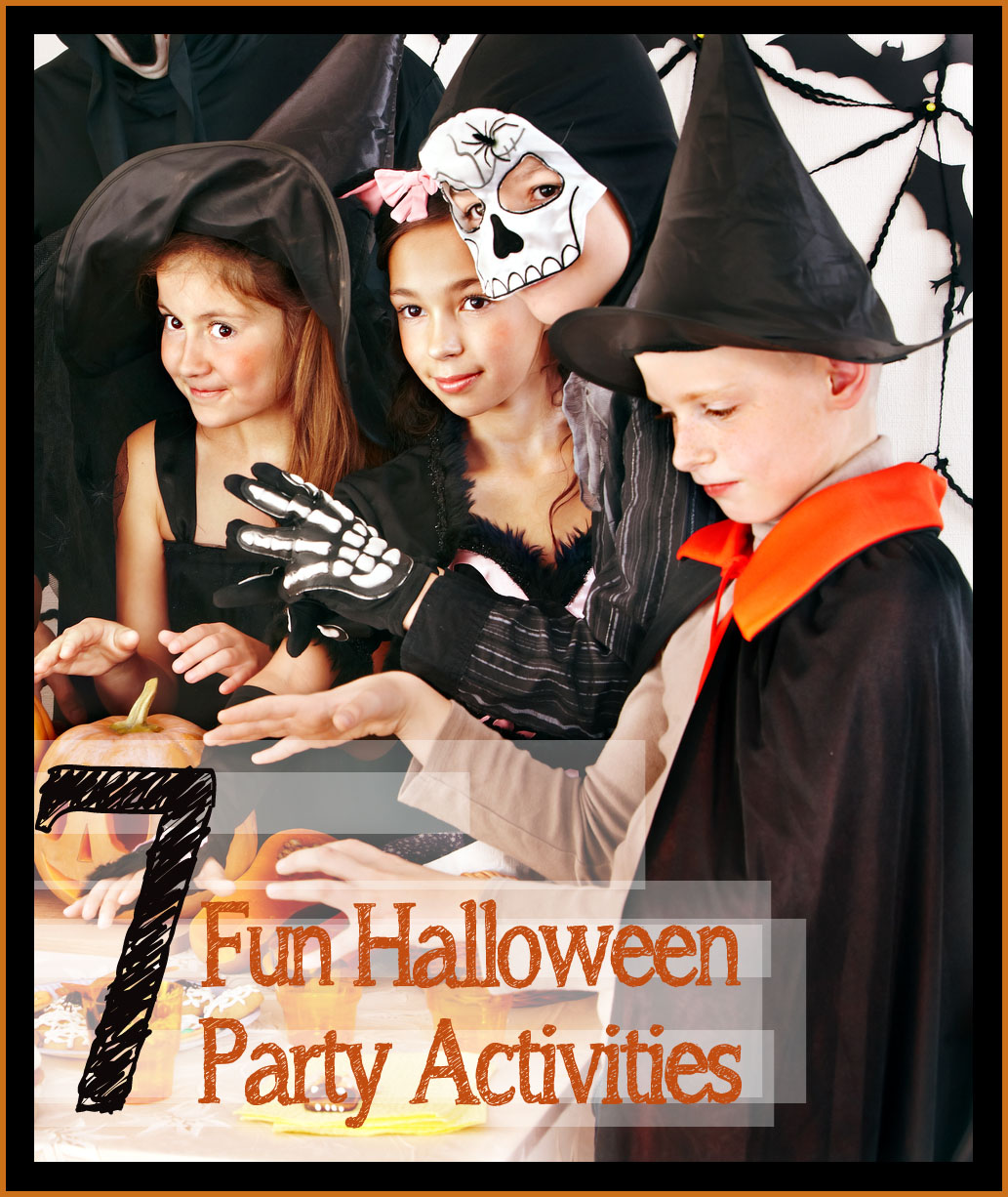 7 Fun Halloween Party Activities -