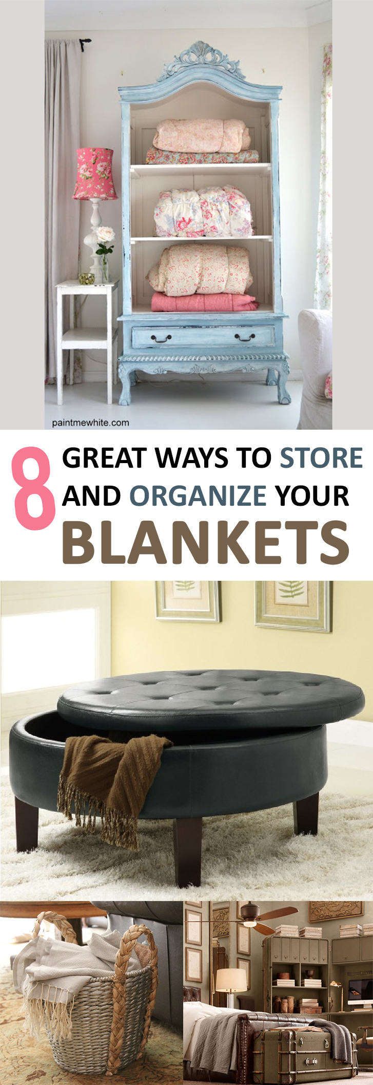 8 Great Ways To Store And Organize Your Blankets Page 5