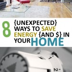 8 {Unexpected} Ways to Save Energy {and $} in Your Home
