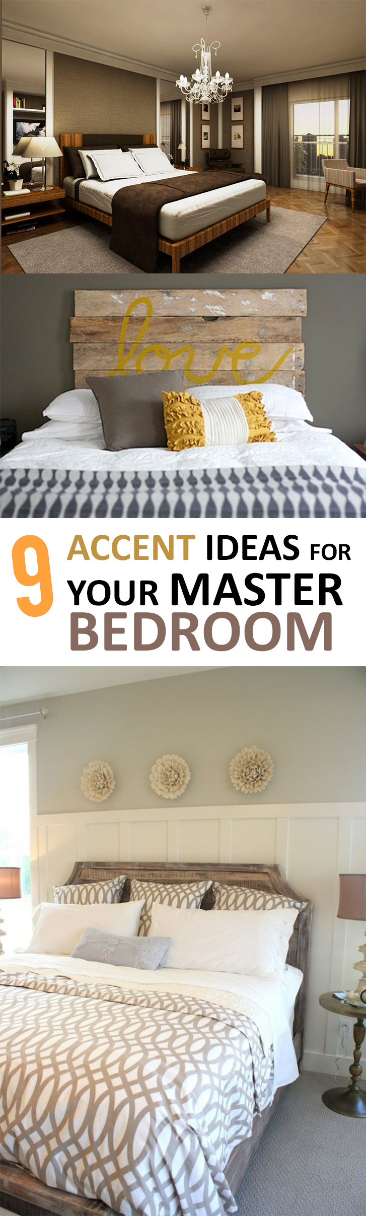 9 Accent Ideas for Your Master Bedroom