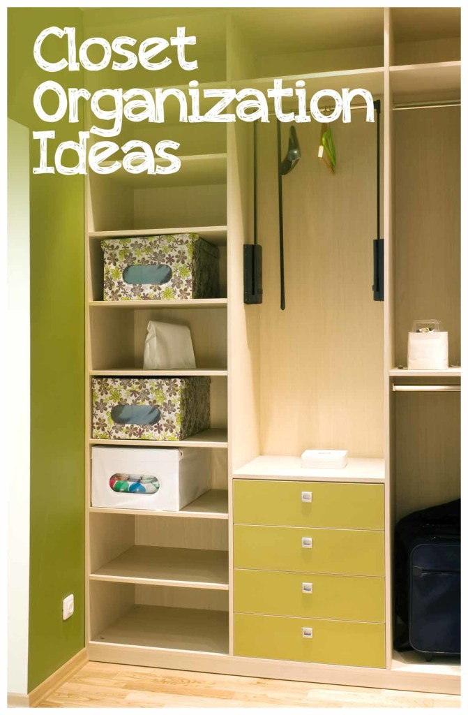 Closet organization ideas sunlit spaces for Organizing ideas for closets