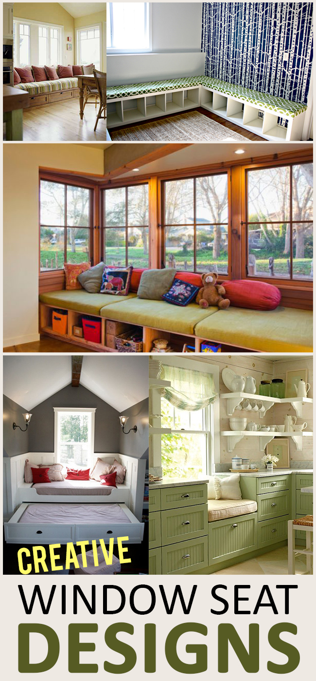 Pleasing Creative Window Seat Ideas Sunlit Spaces Diy Home Decor Creativecarmelina Interior Chair Design Creativecarmelinacom
