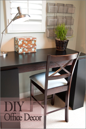 Simple 17 Exceptional DIY Home Office Decor Ideas With Tutorials