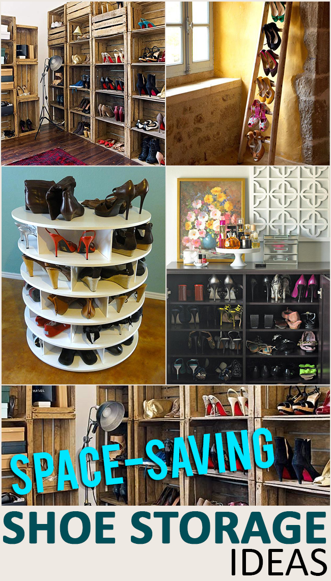 Space saving shoe storage and organization ideas page 7 of 7 - Shoe storage ideas small space image ...
