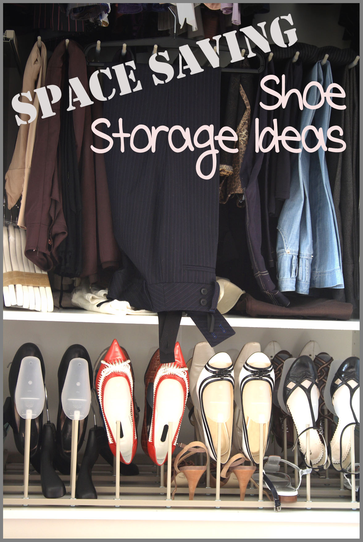 Space Saving Shoe Storage and Organization Ideas | | Sunlit Spaces
