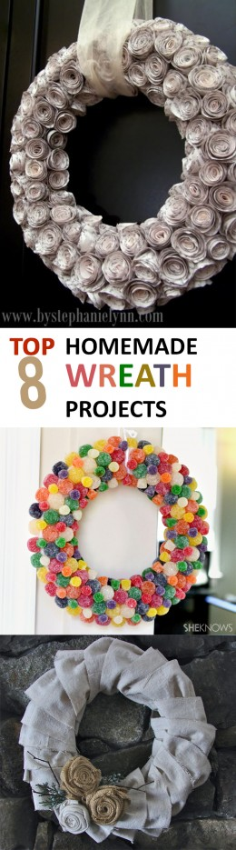Top 8 Homemade Wreath Projects