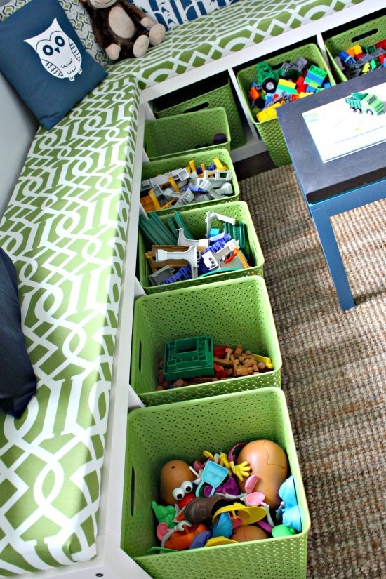 How to Organize Kiddie Clutter!