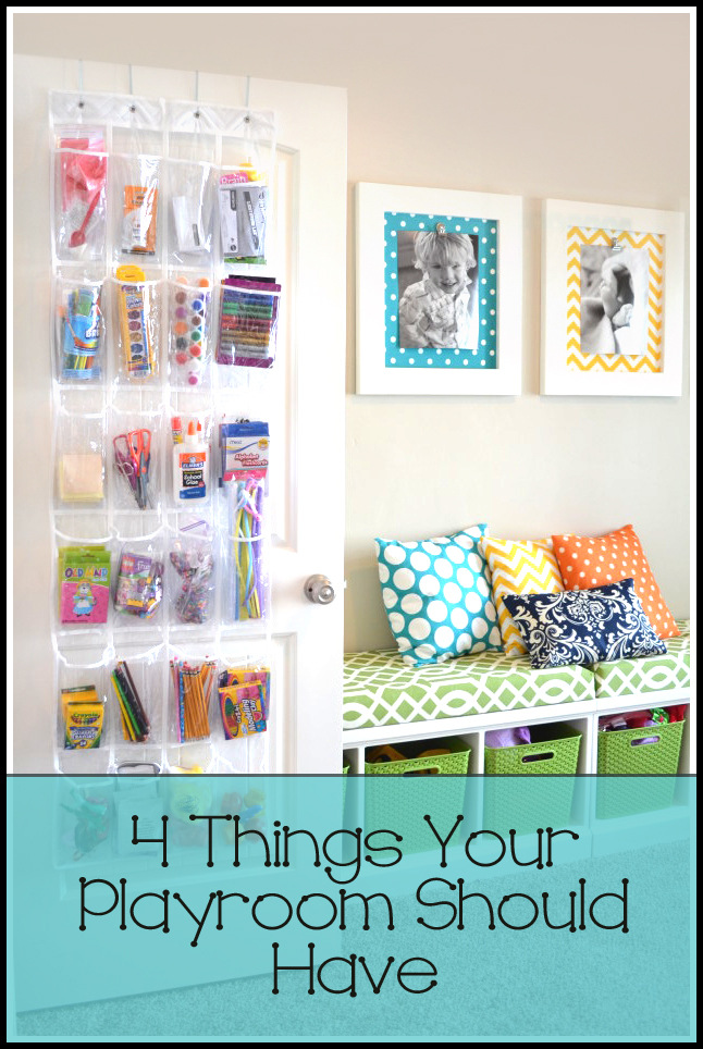 4 Things Your Playroom Should Have
