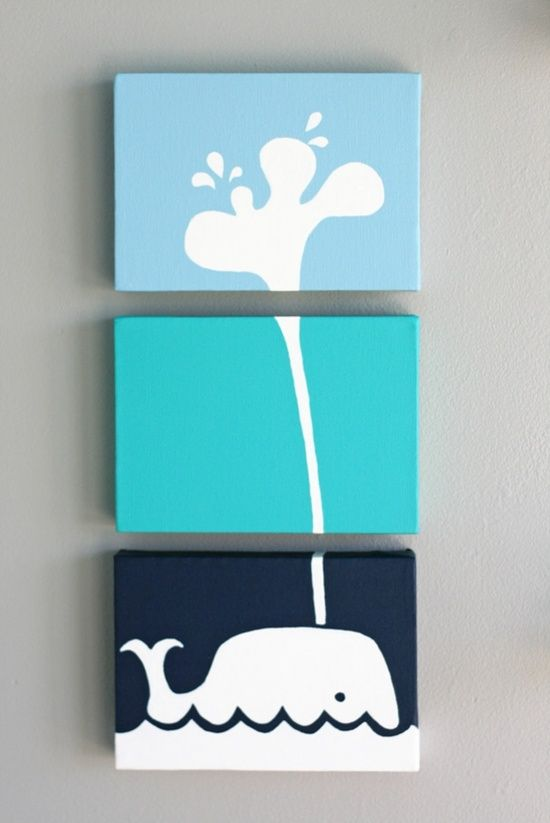 10 Awesome Canvas Projects - Sunlit Spaces | DIY Home ...