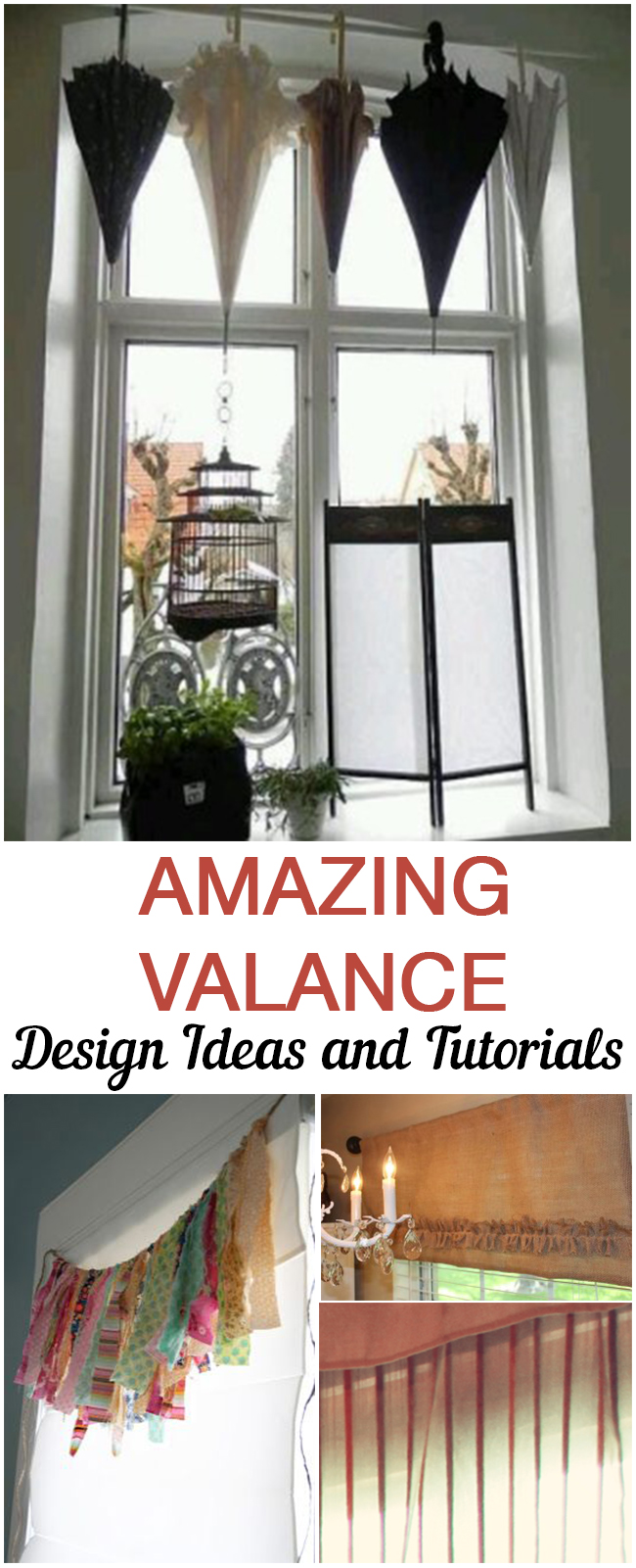Valance designs, window treatment ideas, DIY window treatments, DIY valance designs, popular pin, DIY home decor, easy home decor, DIY home upgrades, easy home upgrades, tutorials.