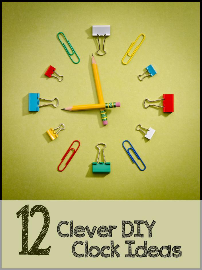 Diy for Bathroom clock ideas