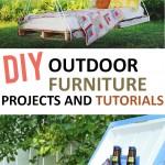 Outdoor, outdoor furniture, DIY outdoor furniture, outdoor living, outdoor DIY, gardening hacks, outdoor décor, porch décor, outdoor entertainment, outdoor activities