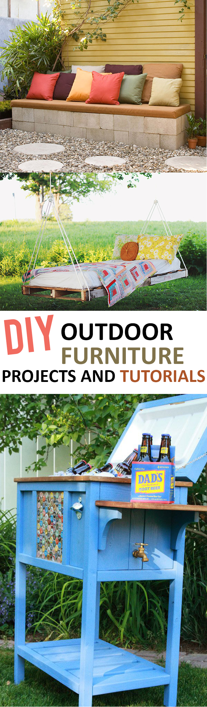 Diy Furniture Projects Diy Outdoor Furniture Projects And Tutorials