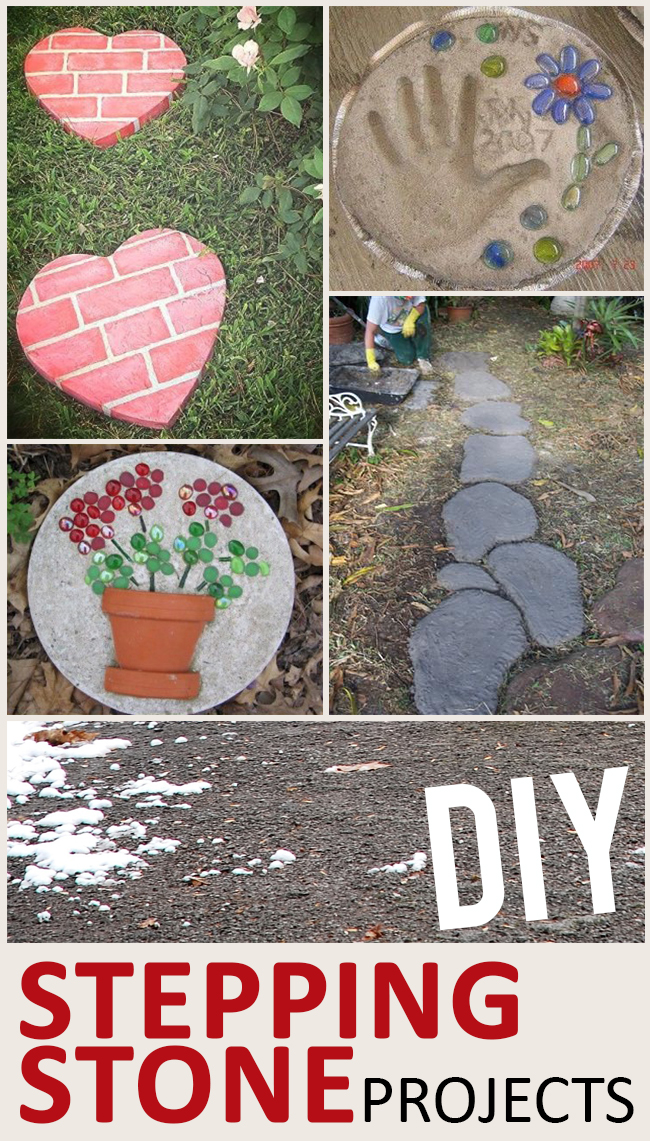 DIY Stepping Stone Projects