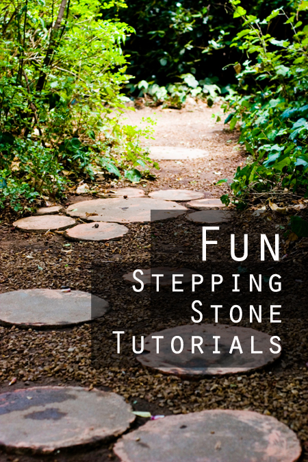 Diy garden stepping stones for Diy garden stepping stones