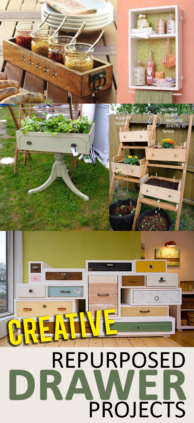 Diy Repurposed Drawer Projects Page 8 Of 11