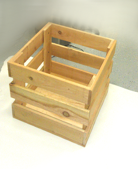 Unfinished Crates
