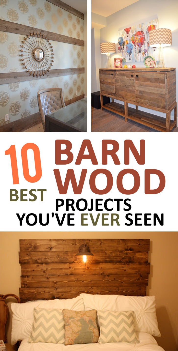 10 Best Barn Wood Projects You've Never Seen