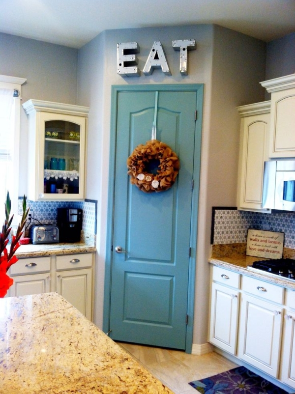 10 Ways To Spruce Up Your Pantry Door Sunlit Spaces