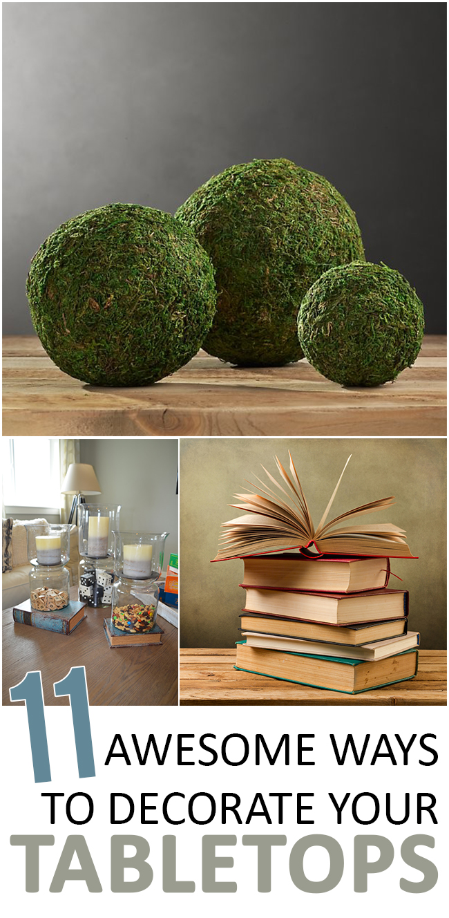 11 Awesome Ways to Decorate Your Tabletops