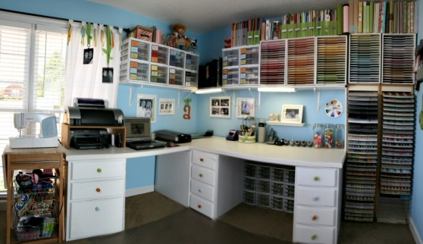 8 Fabulous Craft Rooms That Will Make You Drool Page 7 Of 9