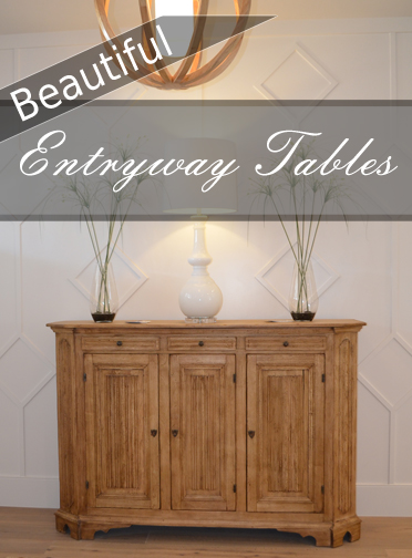Beautiful Entryway Tables