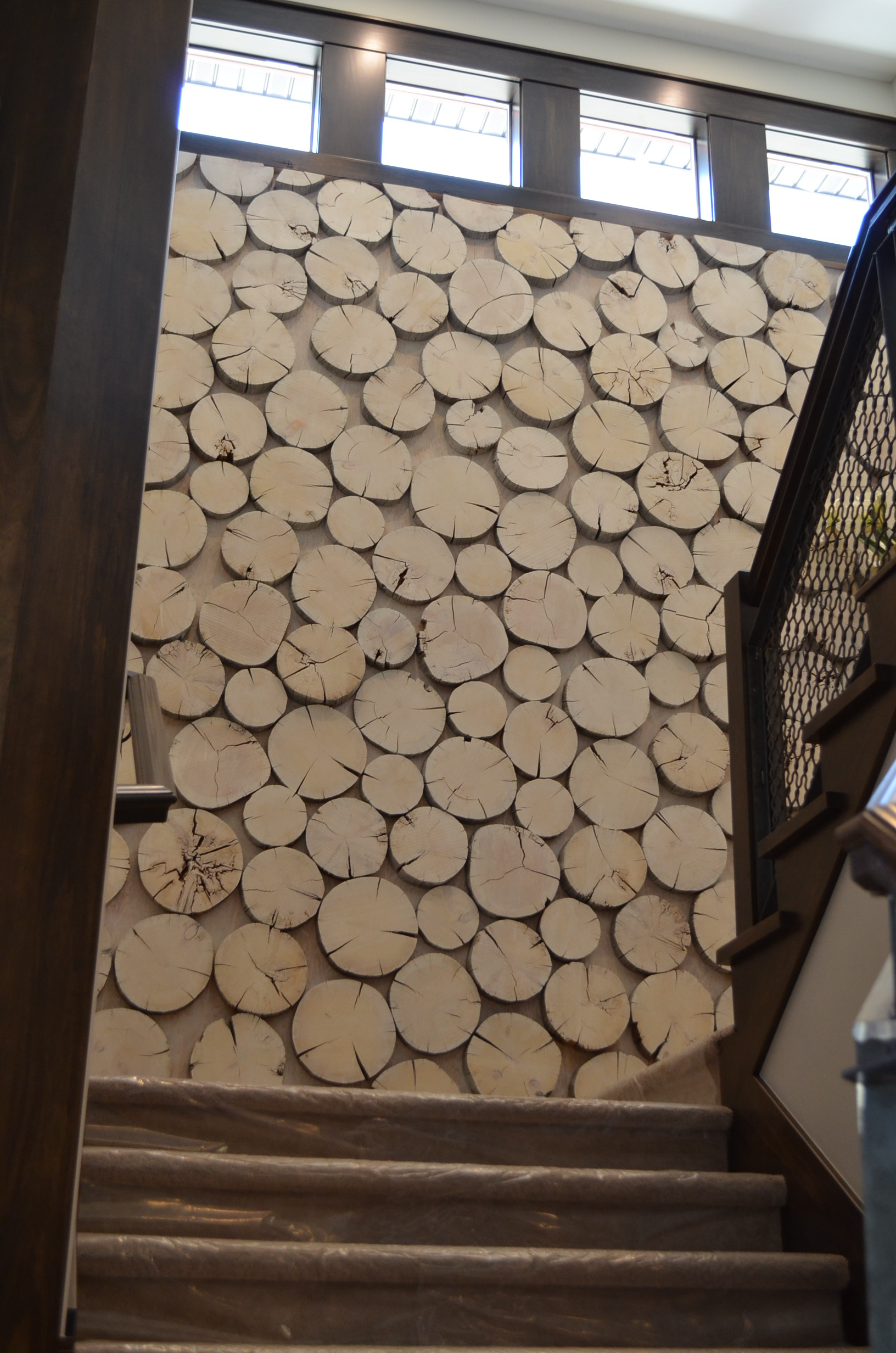 10 ways to make your staircase less boring page 6 of 11 - Cool wall treatments ...
