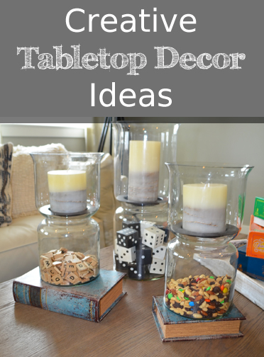 Tags Centerpiece Decor
