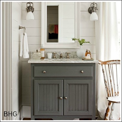 bathroom counters