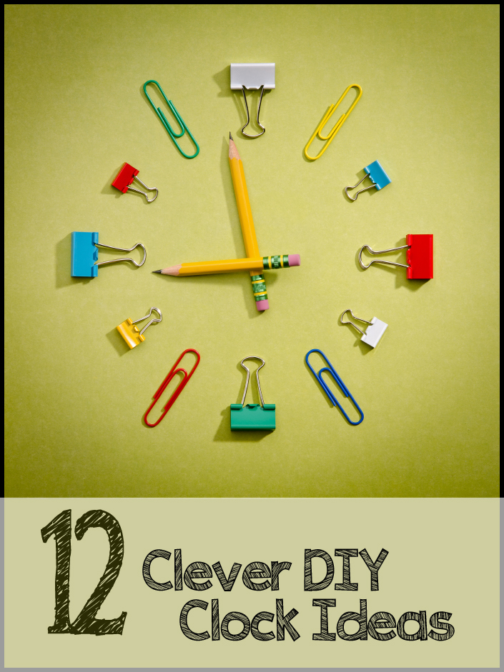 12 crazy cool diy clock ideas