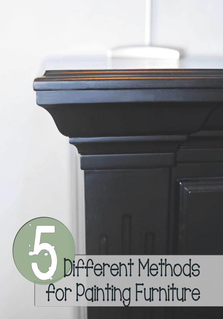 5 Methods for Painting Furniture