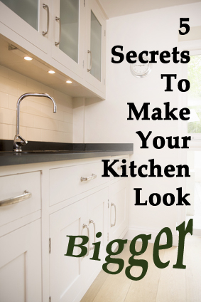 7 Secrets To Make Your Kitchen Look Bigger Sunlit Spaces