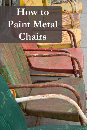 Clean Rust Off Metal >> Painting Metal Chairs- The 411