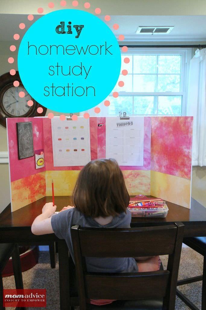 DIY_Homework_Study_Station_1