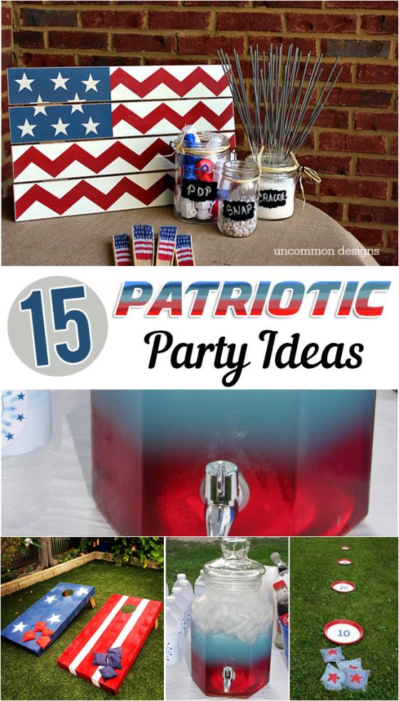 15 Patriotic Party Ideas