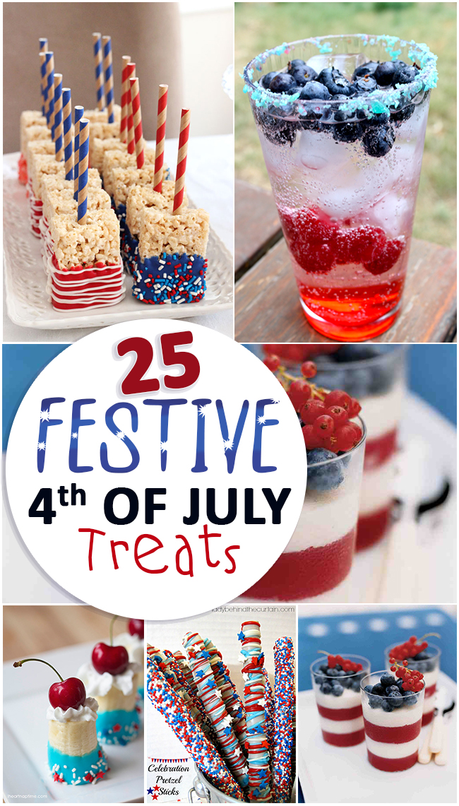 25 Festive 4th of July Treats