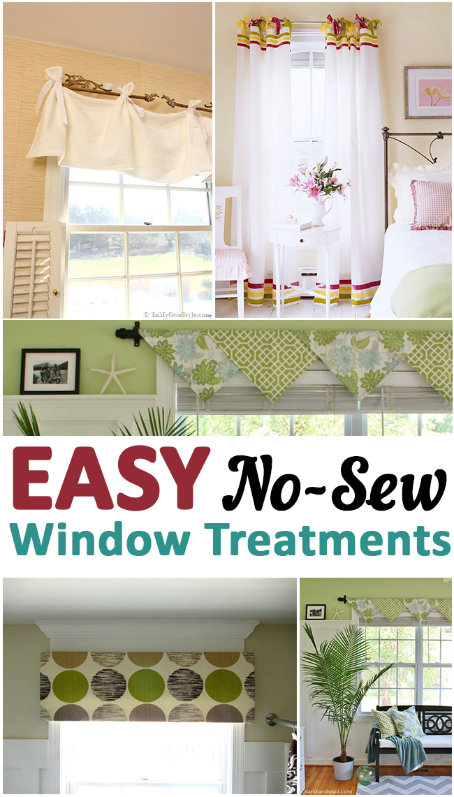 Types Of Window Curtains Door Window Treatments