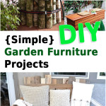 {Simple} DIY Garden Furniture Projects