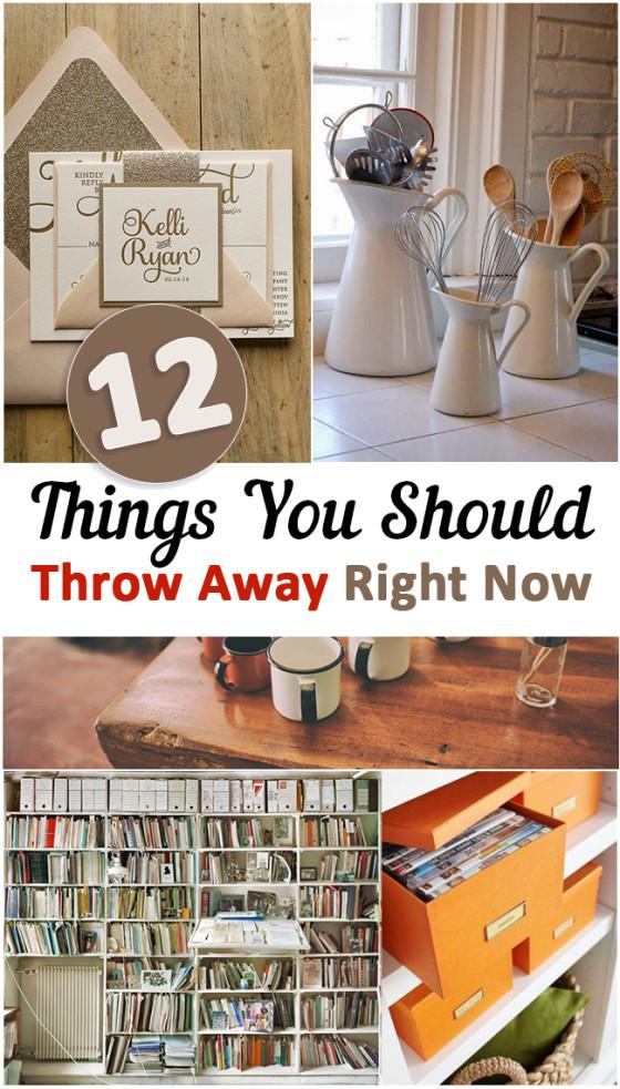 Things You Should Throw Away