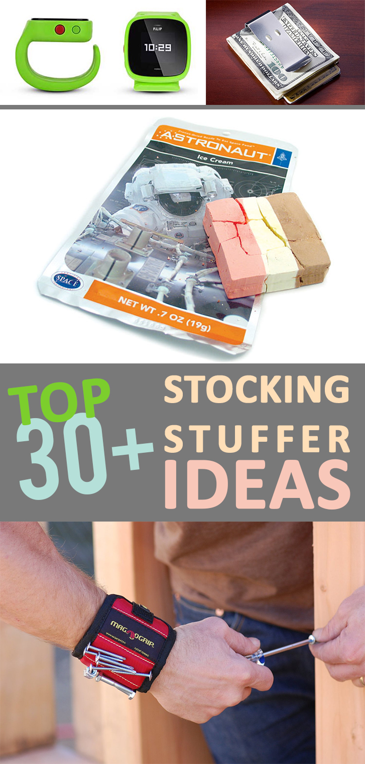 Top 30+ Stocking Stuffer Ideas
