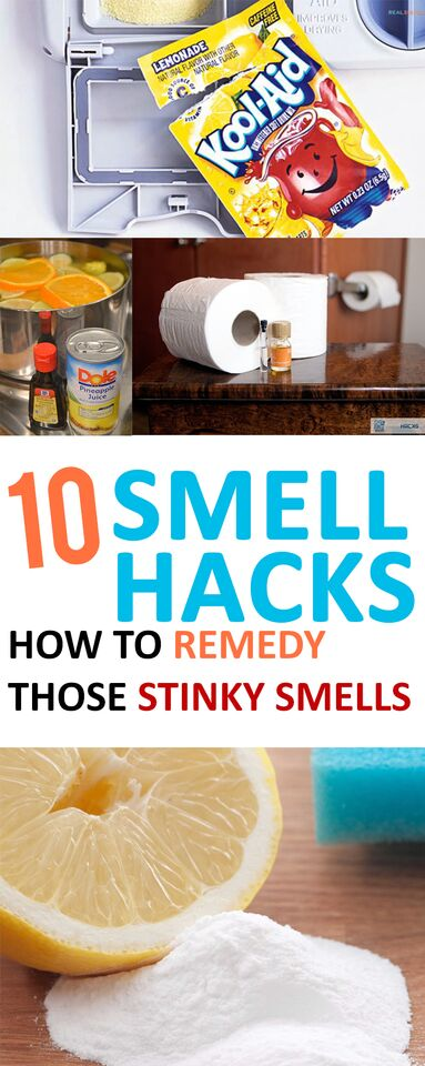 Smell Hacks Stink House Remes Diy Stinky Por Pin Cleaning