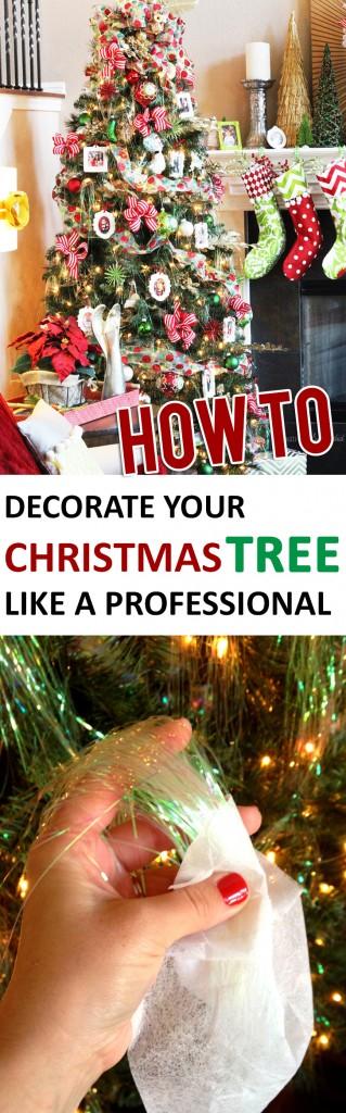 Christmas tree, Christmas tree decor, DIY decor, holiday decor, home decor, DIY home decor, popular pin.