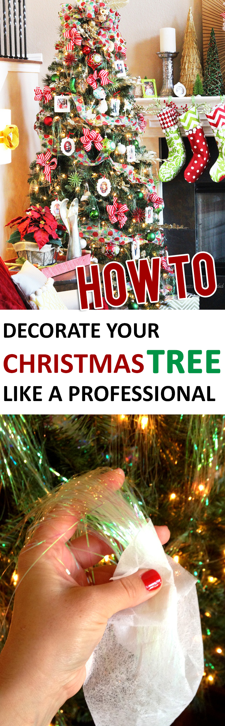 how to decorate your christmas tree like a professional - How To Decorate A Christmas Tree Like A Professional