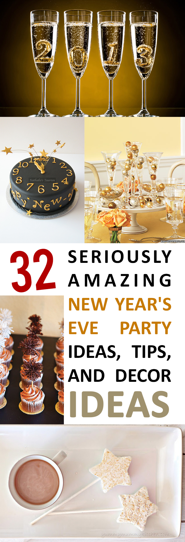 32 seriously amazing new year 39 s eve party ideas tips and decor ideas. Black Bedroom Furniture Sets. Home Design Ideas