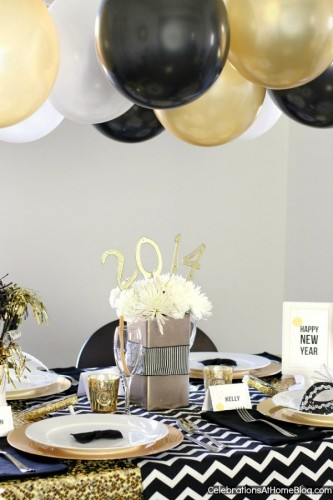 25 New Year's Eve Party Ideas