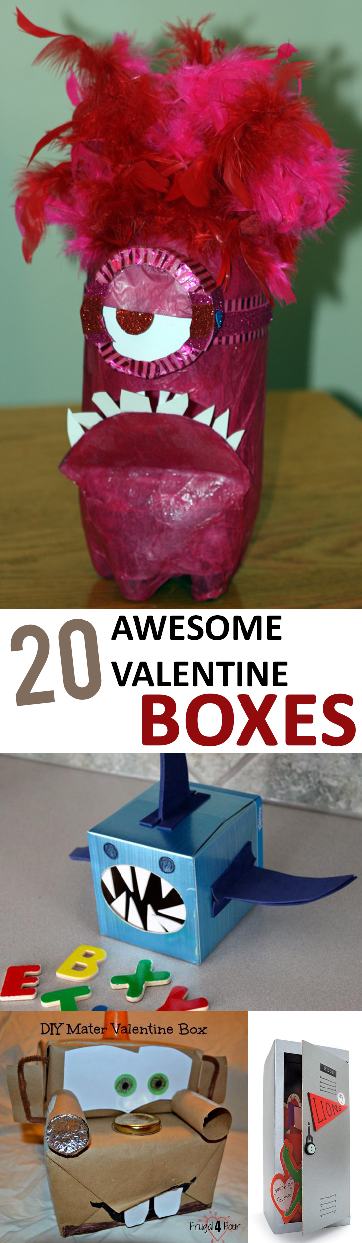 20 Awesome Valentine Boxes